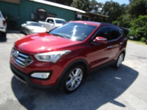 2013 Hyundai Santa Fe Sport for sale at S & T Motors in Hernando FL
