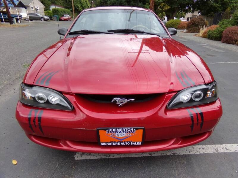 1997 Ford Mustang for sale at Signature Auto Sales in Bremerton WA