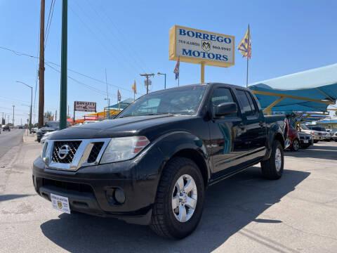 2012 Nissan Frontier for sale at Borrego Motors in El Paso TX
