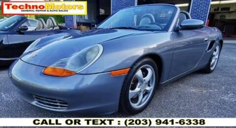 2001 Porsche Boxster for sale at Techno Motors in Danbury CT