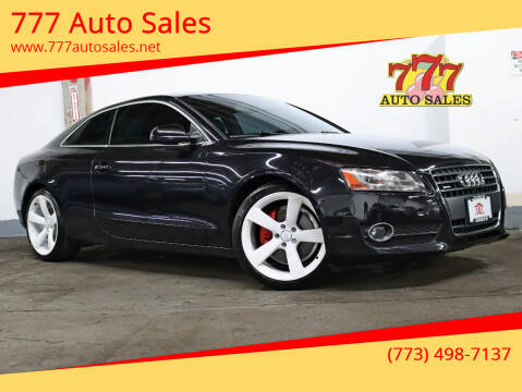 2012 Audi A5 for sale at 777 Auto Sales in Bedford Park IL