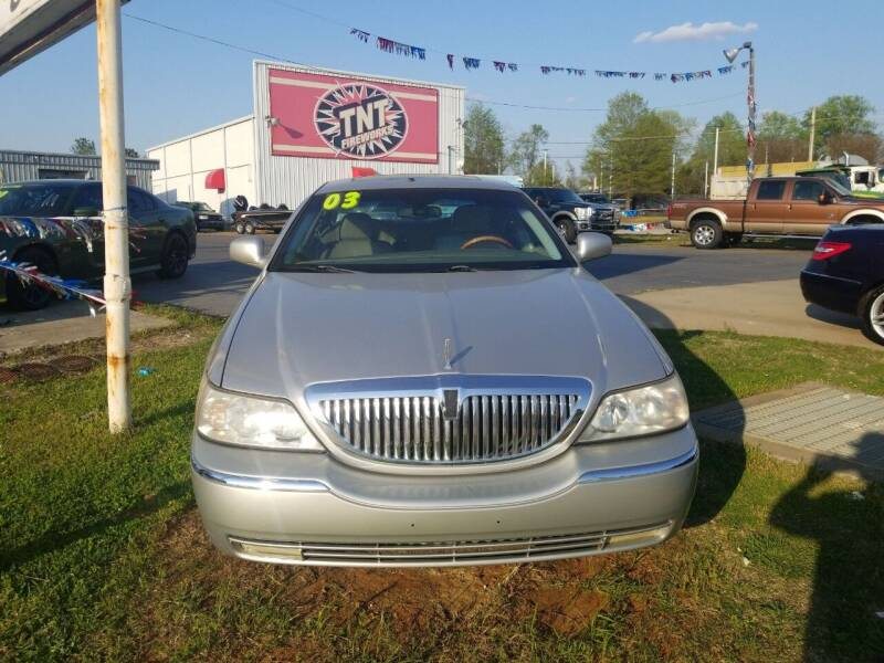 2003 Lincoln Town Car for sale at AUTOPLEX 528 LLC in Huntsville AL