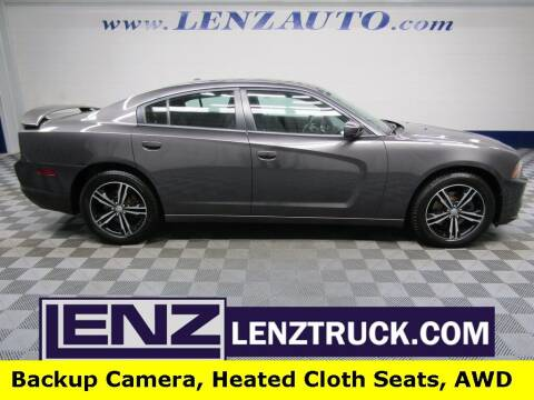 2014 Dodge Charger for sale at LENZ TRUCK CENTER in Fond Du Lac WI