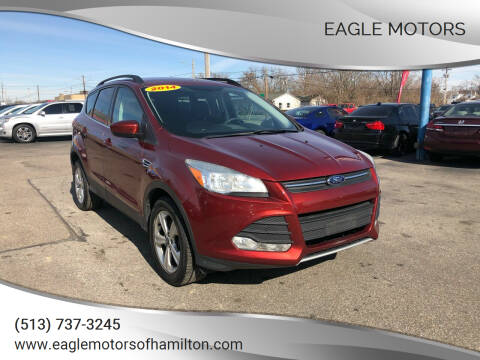 2014 Ford Escape for sale at Eagle Motors in Hamilton OH