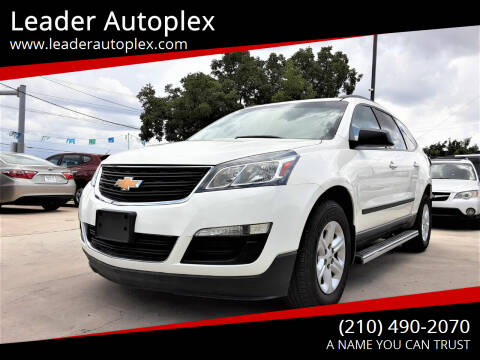 2015 Chevrolet Traverse for sale at Leader Autoplex in San Antonio TX