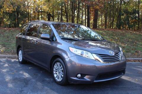 2015 Toyota Sienna for sale at El Patron Trucks in Norcross GA
