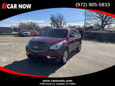 2015 Buick Enclave for sale at Car Now in Dallas TX