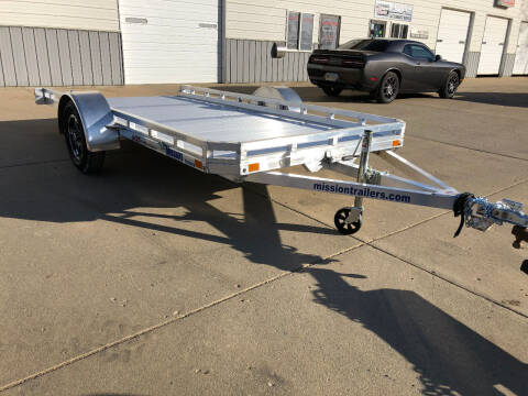 2021 ALUMINUM UTILITY MISSION 6.5X14 TILT for sale at AUTO PRO in Brookings SD