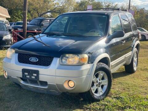 2007 Ford Escape for sale at Cash Car Outlet in Mckinney TX