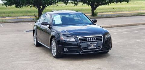 2012 Audi A4 for sale at America's Auto Financial in Houston TX