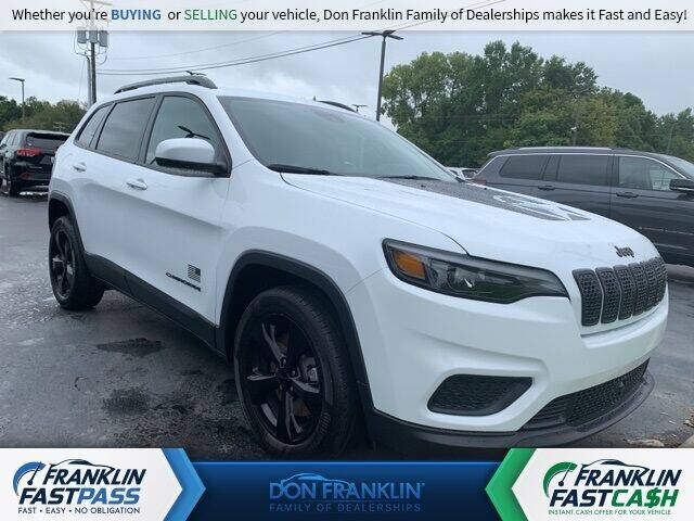 2021 Jeep Cherokee for sale in Somerset, KY