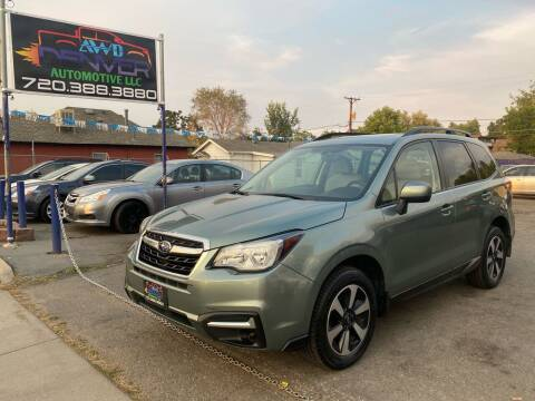 2017 Subaru Forester for sale at AWD Denver Automotive LLC in Englewood CO