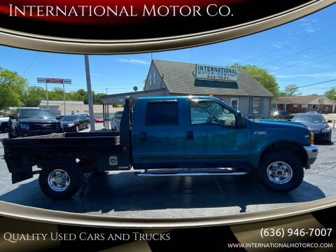 2001 Ford F-350 Super Duty for sale at International Motor Co. in St. Charles MO
