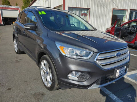 2018 Ford Escape for sale at Guy Strohmeiers Auto Center in Lakeport CA