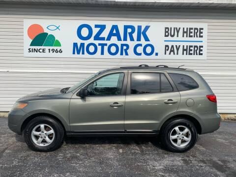 2007 Hyundai Santa Fe for sale at OZARK MOTOR CO in Springfield MO