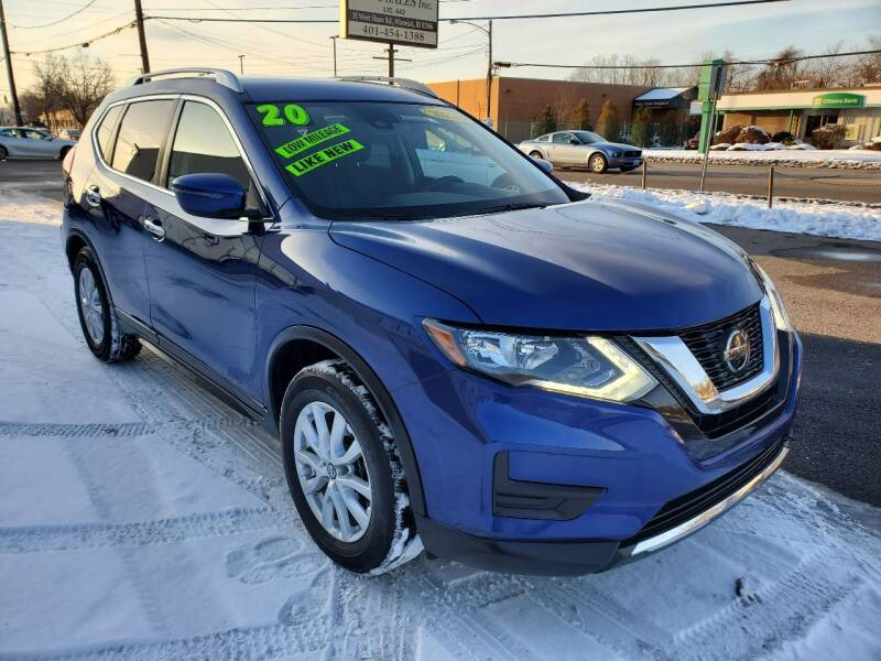 2020 Nissan Rogue for sale at Greenville Auto Sales in Warwick RI