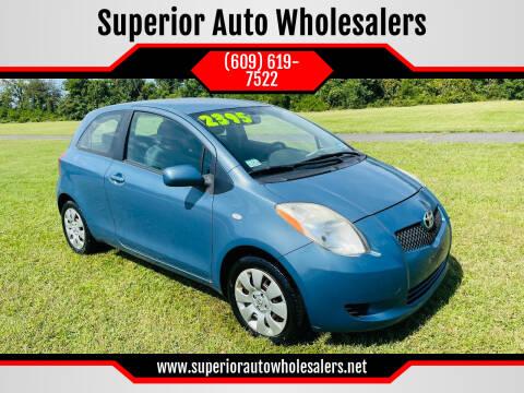 2007 Toyota Yaris for sale at Superior Auto Wholesalers in Burlington NJ