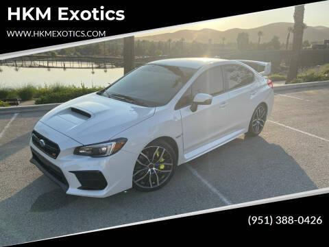 2020 Subaru WRX for sale at HKM Exotics in Corona CA