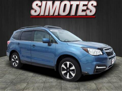 2017 Subaru Forester for sale at SIMOTES MOTORS in Minooka IL