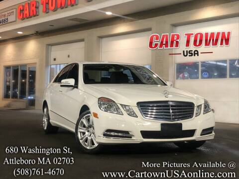 2013 Mercedes-Benz E-Class for sale at Car Town USA in Attleboro MA