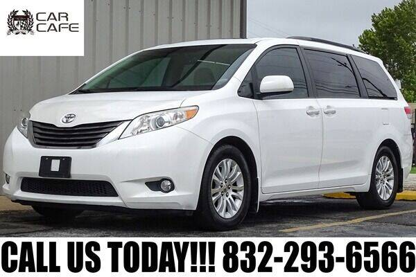 2011 Toyota Sienna for sale at CAR CAFE LLC in Houston TX