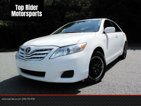 2010 Toyota Camry for sale at Top Rider Motorsports in Marietta GA