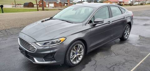 2019 Ford Fusion for sale at Gallia Auto Sales in Bidwell OH
