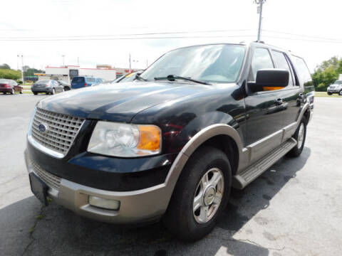 2003 Ford Expedition for sale at WOOD MOTOR COMPANY in Madison TN