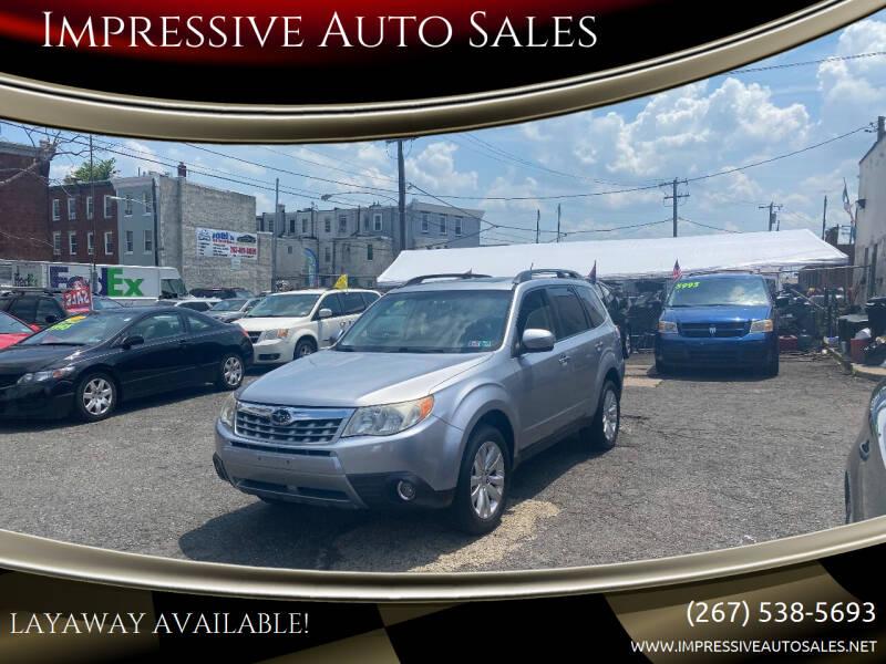 2012 Subaru Forester for sale at Impressive Auto Sales in Philadelphia PA