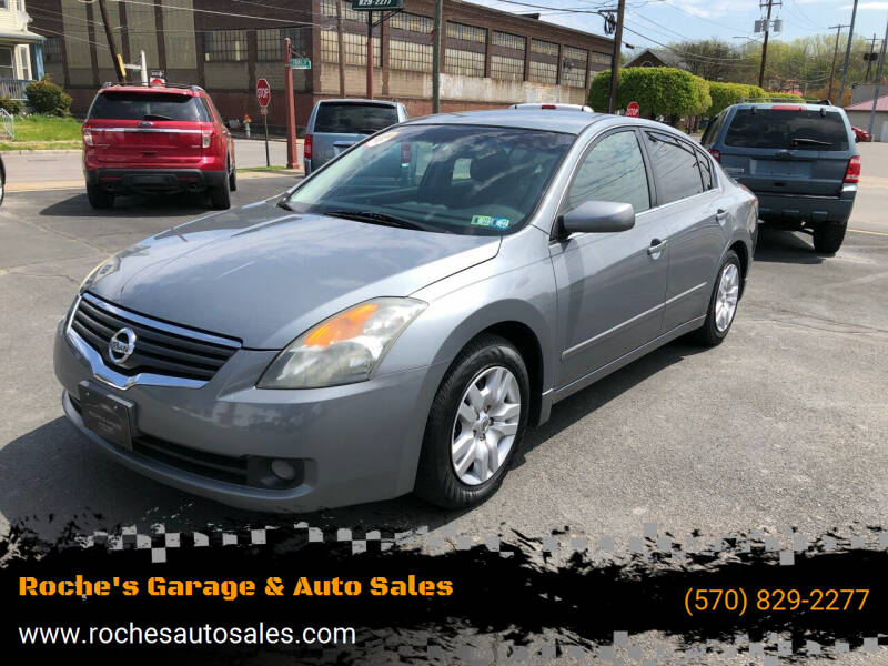 2009 Nissan Altima for sale at Roche's Garage & Auto Sales in Wilkes-Barre PA
