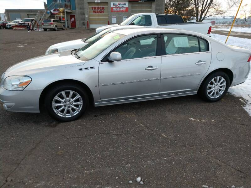 2010 Buick Lucerne for sale at Kull N Claude in Saint Cloud MN
