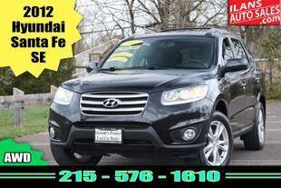 2012 Hyundai Santa Fe for sale at Ilan's Auto Sales in Glenside PA