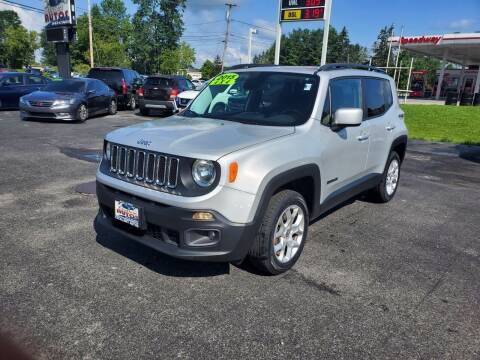 2015 Jeep Renegade for sale at Excellent Autos in Amsterdam NY