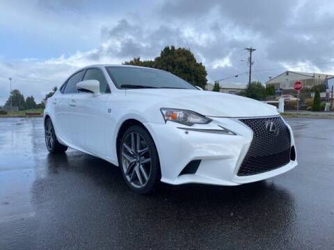 2015 Lexus IS 350 for sale at Sunset Auto Wholesale in Tacoma WA