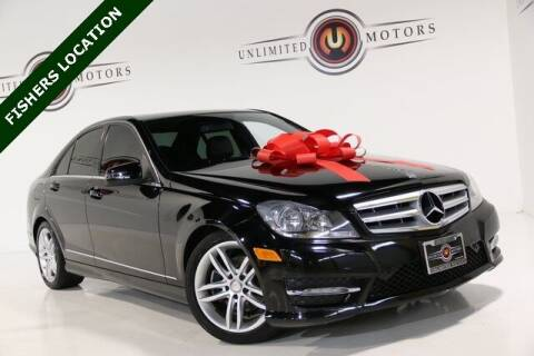 2012 Mercedes-Benz C-Class for sale at Unlimited Motors in Fishers IN