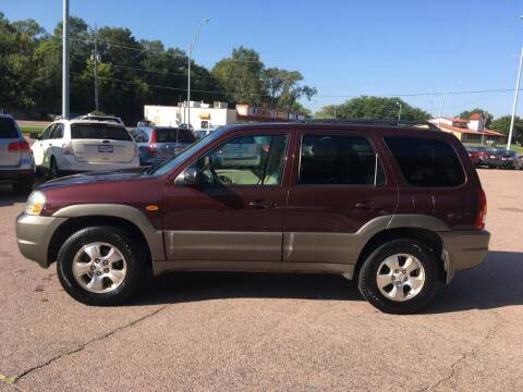 2001 Mazda Tribute for sale at Gordon Auto Sales LLC in Sioux City IA