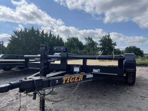 """2021 TIGER 77"""" X 14' - Brakes - 5200 for sale at LJD Sales in Lampasas TX"""