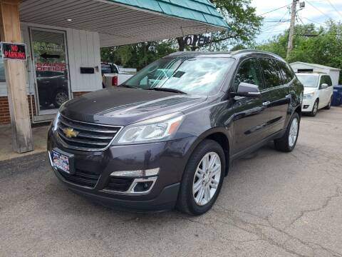 2014 Chevrolet Traverse for sale at New Wheels in Glendale Heights IL