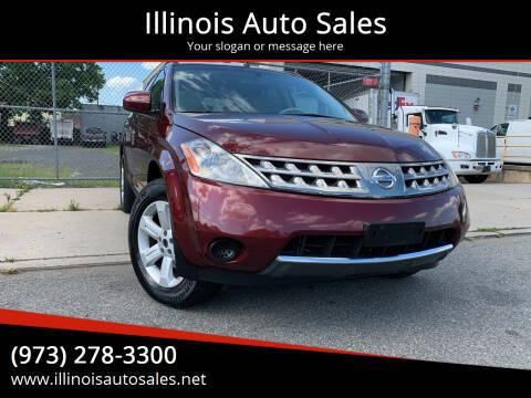 2007 Nissan Murano for sale at Illinois Auto Sales in Paterson NJ