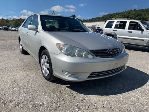 2005 Toyota Camry for sale at Ron Motor Inc. in Wantage NJ
