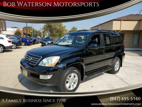 2007 Lexus GX 470 for sale at Bob Waterson Motorsports in South Elgin IL