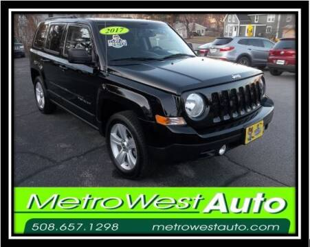 2017 Jeep Patriot for sale at Metro West Auto in Bellingham MA