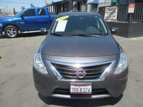 2015 Nissan Versa for sale at Quick Auto Sales in Modesto CA