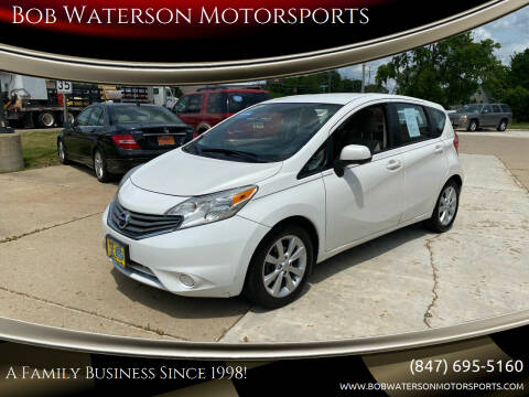 2014 Nissan Versa Note for sale at Bob Waterson Motorsports in South Elgin IL