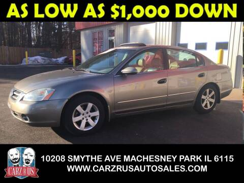 2003 Nissan Altima for sale at Carz R Us in Machesney Park IL
