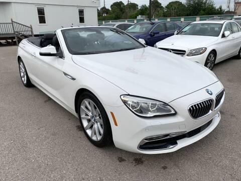 2017 BMW 6 Series for sale at KAYALAR MOTORS in Houston TX