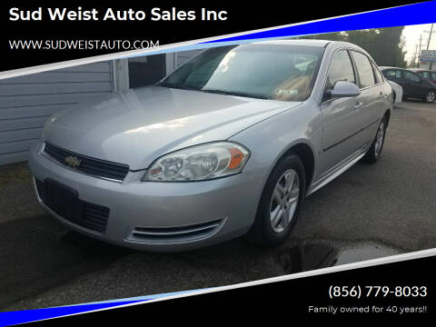 2010 Chevrolet Impala for sale at Sud Weist Auto Sales Inc in Maple Shade NJ