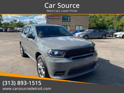 2020 Dodge Durango for sale at Car Source in Detroit MI