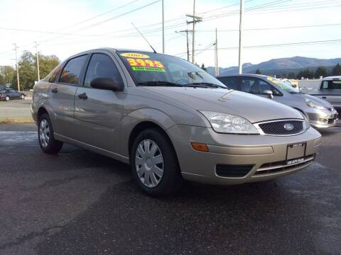 2007 Ford Focus for sale at Low Auto Sales in Sedro Woolley WA