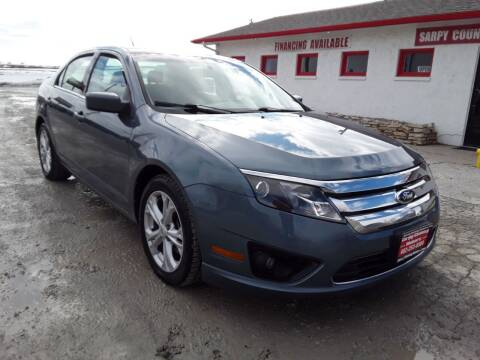 2012 Ford Fusion for sale at Sarpy County Motors in Springfield NE